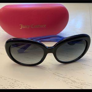 Juicy Couture Blue sunglasses
